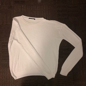 White Knot Sweater